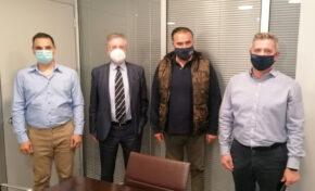 Συνάντηση της Π.Ο.Ε.Π.Λ.Σ. με το Γραμματέα Εργαζομένων της Νέας Δημοκρατίας κ. Κόλλια Θεόδωρο