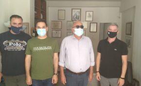 Συνάντηση Π.Ο.Ε.Π.Λ.Σ. με τον πρώην ΥΝΑΝΠ και βουλευτή ΣΥΡΙΖΑ-ΠΣ κ. Κουρουμπλή Παναγιώτη