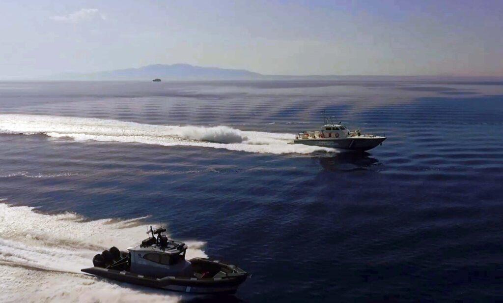Video – Άσκηση απεγκλωβισμού πληθυσμού δια θαλάσσης μετά από εκδήλωση πυρκαγιάς από τη Λιμενική Αρχή Καλύμνου