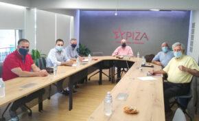 Συνάντηση Π.Ο.Ε.Π.Λ.Σ. με εκπροσώπους του ΣΥΡΙΖΑ - ΠΣ