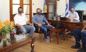 Συνάντηση Ε.Π.Λ.Σ. Δυτικής Κρήτης με τον Δήμαρχο Χανίων