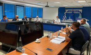 Συνάντηση Π.Ο.Ε.Π.Λ.Σ. με Αρχηγό Λ.Σ.-ΕΛ.ΑΚΤ. Αντιναύαρχο Λ.Σ. Κλιάρη Θεόδωρο
