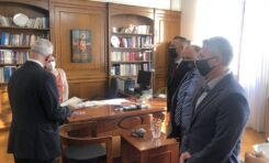 Κατάθεση Κοινού Υπομνήματος Ομοσπονδιών με αποδέκτη τον κ. Πρωθυπουργό