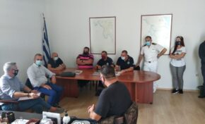 Επισκέψεις στις Λιμενικές Αρχές Καλαμάτας και Νεάπολης Βοιών
